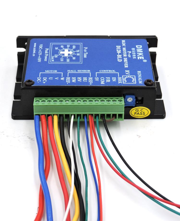 bld-120a接线图(调速开关接法)