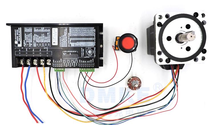 2475接线图(启动加调速)-技术支持-广州市德马克电机
