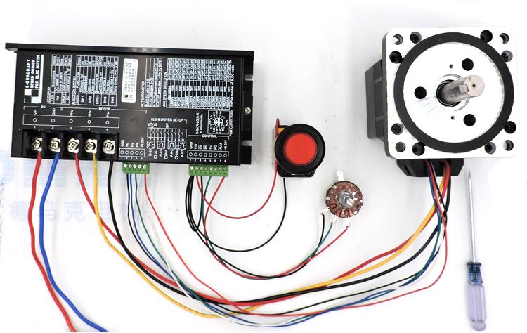2745驱动器接线图(正反转加调速)